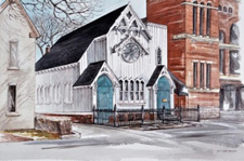 Olivet Congregational Church (todays's Heliconian Club)